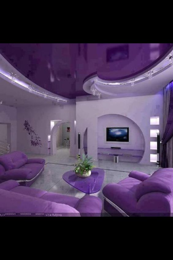 purple cool rooms and awesome on pinterest