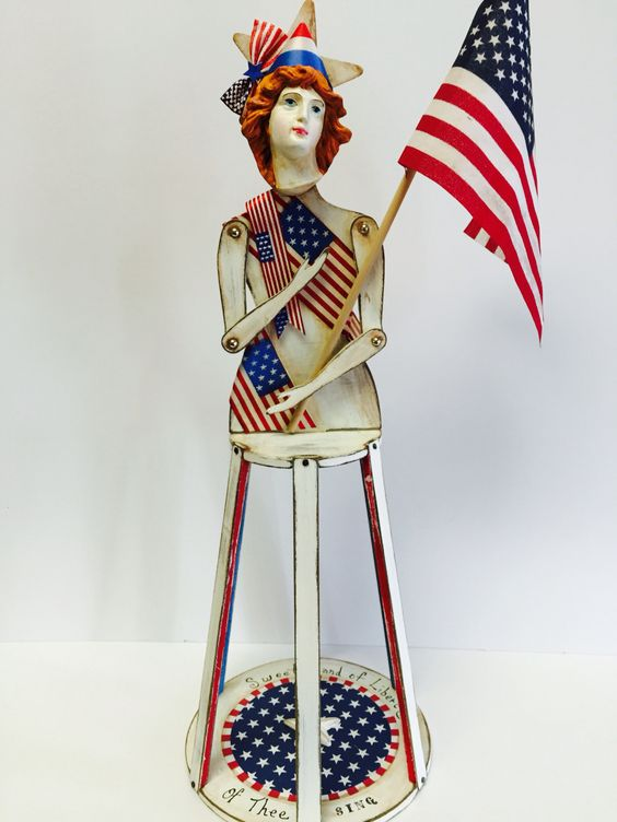 My Lady of The U.S.A. Large Santos Cage Doll