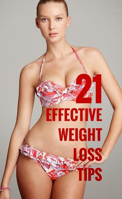 21 Effective Weight Loss Tips | Tummy Fitness