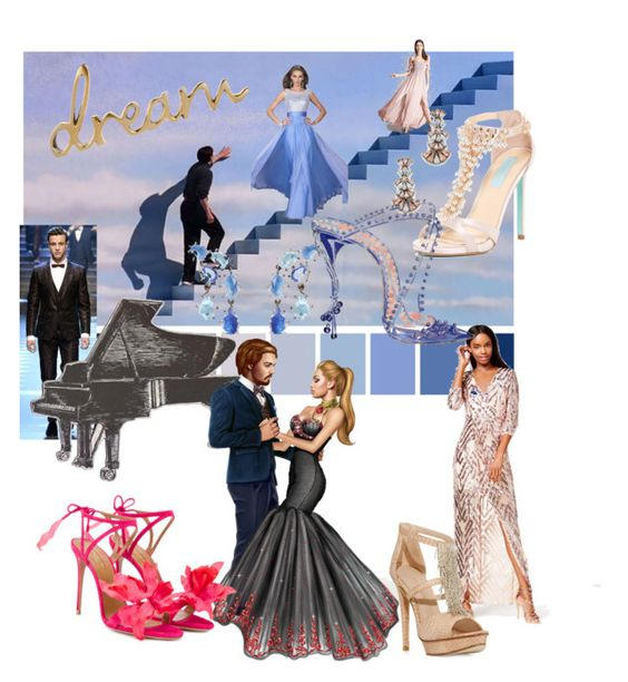 """Shall We Dance"" by maralyncampbell ❤ liked on Polyvore featuring La Femme, Betsey Johnson, Forever 21, Sole Society, Dolce&Gabbana, Trixxi, Larkspur & Hawk, Manolo Blahnik, Aquazzura and Pelle Moda"