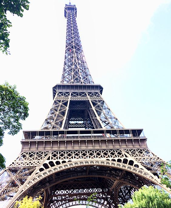 TRAVEL . july 10, 2014 . Postcard from Paris, France . Eiffel Tower