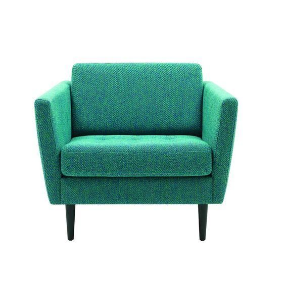 fauteuil bleu canard fauteuil pinterest achats. Black Bedroom Furniture Sets. Home Design Ideas