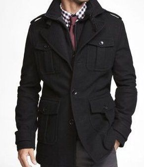 Black Jacket Coat - Coat Nj