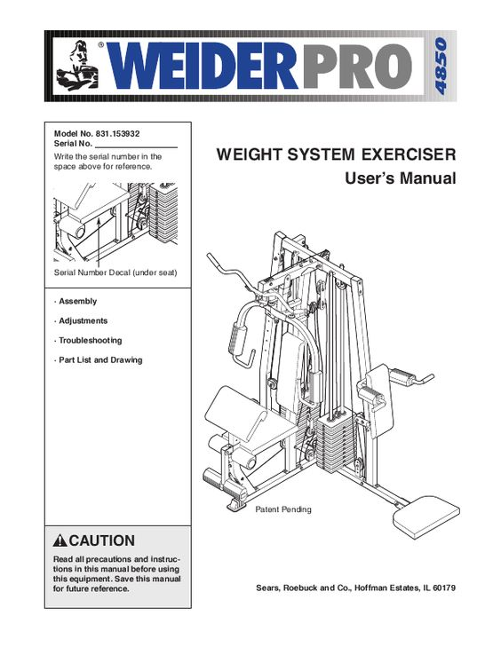 Appealing weider pro home gym ideas image