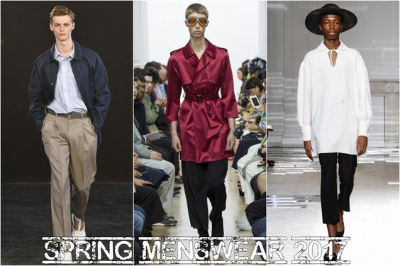 Začaly módní přehlídky pánského jarního oblečení 2017 | MODA.CZ
