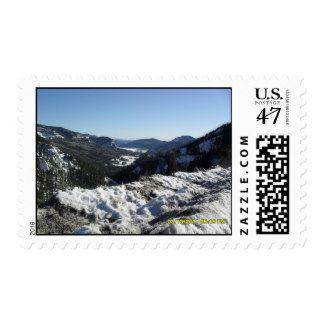 Scenic Colorado view Postage