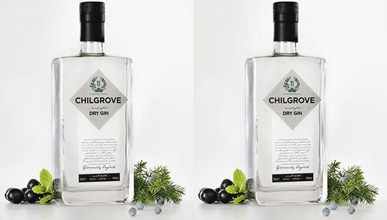 """""""Afirma-se"""" que é o primeiro gin Inglês destilado a partir de uvas, Chilgrove Gin inclui """"ethereally"""" nomeados """"grãos do paraíso"""" na sua lista de plantas, assim como """"água de hortelã""""."""