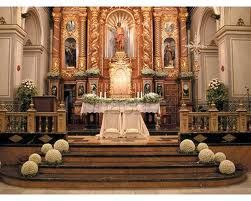 arreglo floral altar - Google Search