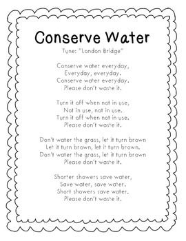 Poem On Water Conservation 105