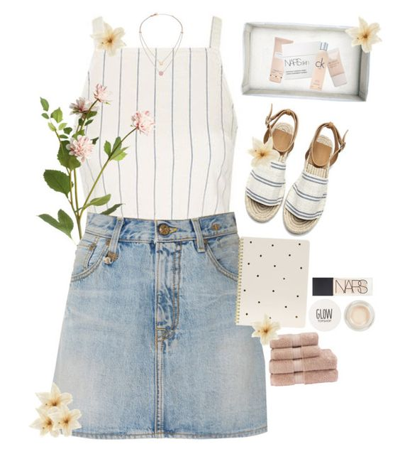 """""""-idea-"""" by fruane ❤ liked on Polyvore featuring Topshop, OKA, R13, Sugar Paper, NARS Cosmetics, Clips, Carven, Pieces, Calvin Klein and Michael Kors"""