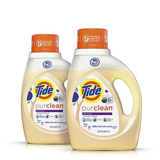 Amazon Tide Purclean Plant Based Laundry Detergent Honey