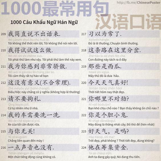 1000 Câu Khẩu Ngữ - Phần 14: