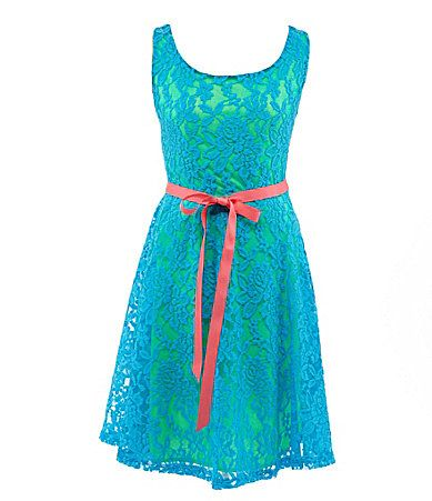Zunie 7-16 Lace-Overlay Dress--Hannah's favorite