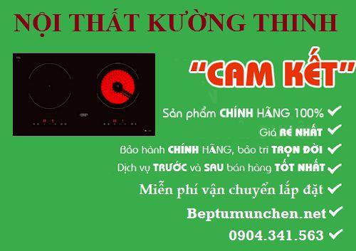 Địa chỉ bán bếp điện từ Munchen GM 8642 HYB uy tín tại Hà Nội