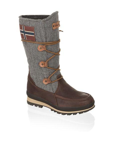 Napapijri Greta - braun - Gratis Versand | Schuhe | Snow Boots ...