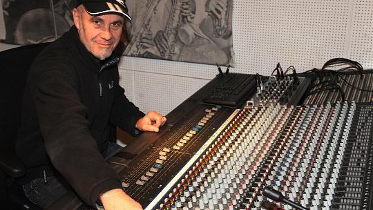 Gitarrist und Produzent Jürgen Müller