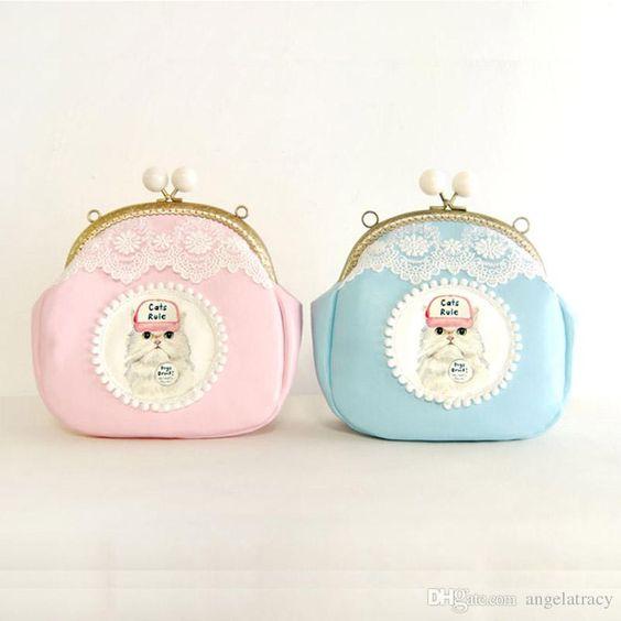 New Fashion Women Matte Handbag PU Shoulder Messenger Bag Cute Cat frame Mini Hobo PU purse shoulder handbag Satchel