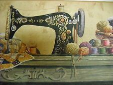 Sewing rooms sewing wallpapers room wallpaper yarns quilt wallpaper