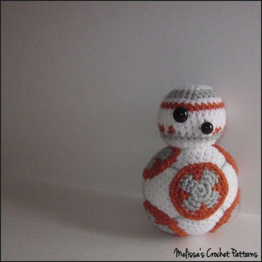 Free Star Wars Bb 8 Crochet Pattern : BB-8 from Star Wars - a free crochet pattern on Ravelry ...