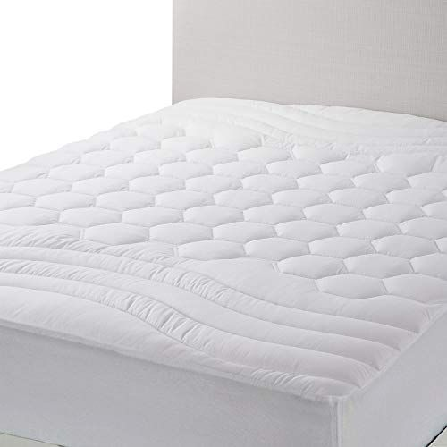 Bedsure Mattress Pad Full Size Breathable Ultra Soft Quilted Mattress Pad Deep Pocket Fitted Sheet Mattress Mattress Covers Mattress Pad Mattress Pad Cover