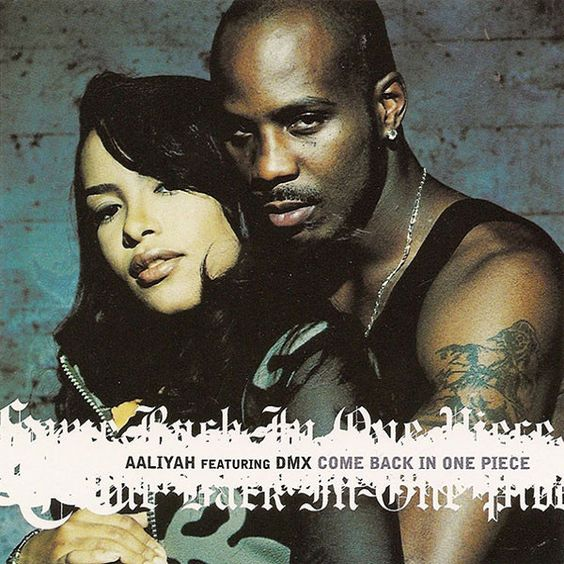 Aaliyah, DMX – Come Back in One Piece (single cover art)