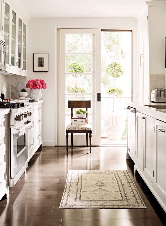Vintage French And Galley Kitchens On Pinterest