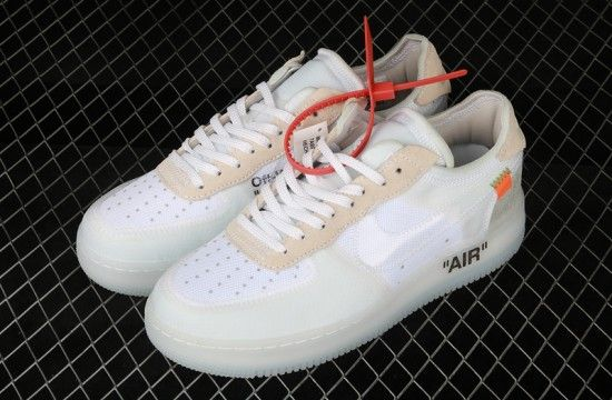 The 10 Off White x Nike Air Force 1 Low OG White AO4606 100