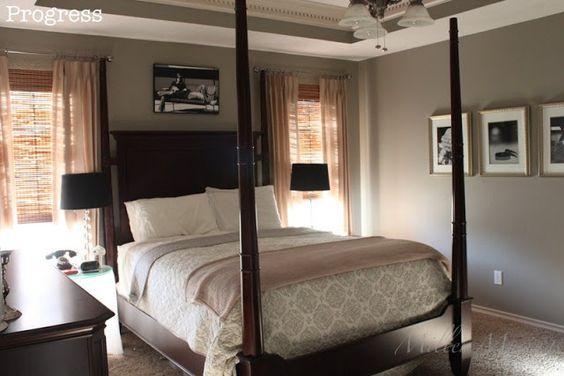 Benjamin Moore Rockport Gray Master Bedroom Pinterest