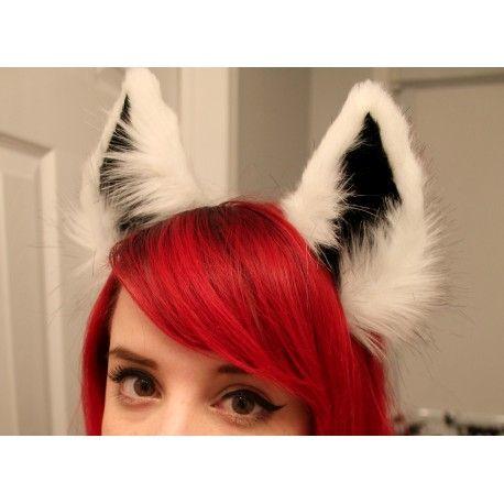 Fox Ears- Kitten's playpen.