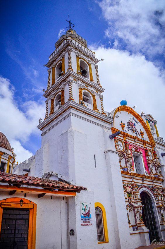 Parroquia de Santiago Apóstol, Chignahuapan, Puebla, México