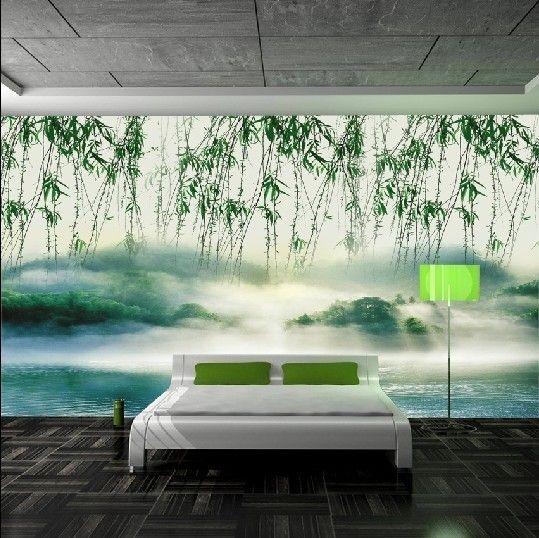 Ltimo sonho paisagem tridimensional 3d papel de parede for Sala de estar com papel de parede 3d