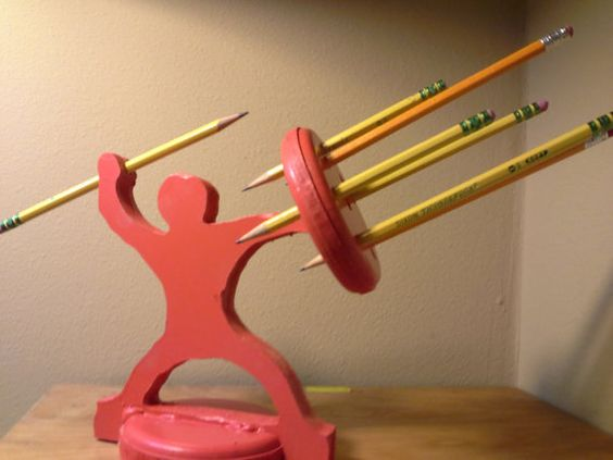 Pencil Holder Warrior The Most Awesome Pencil Holder Ever Awesome Pencil H