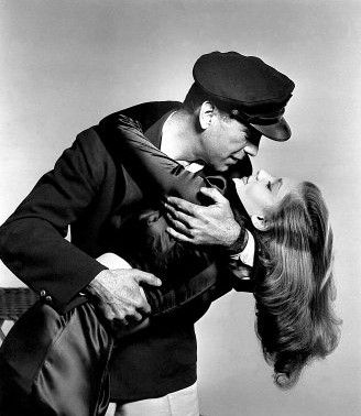 She called him Bogie, he called her baby.  Bogie and Bacall on and off the screen a great romance