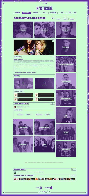 Unique Web Design, Northside #WebDesign #Design (http://www.pinterest.com/aldenchong/)