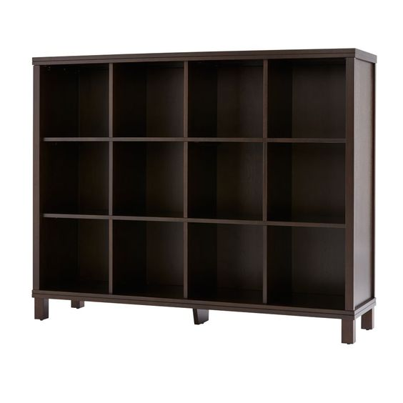 Cubic Tall Bookcase (Java, 12-Cube) | The Land of Nod