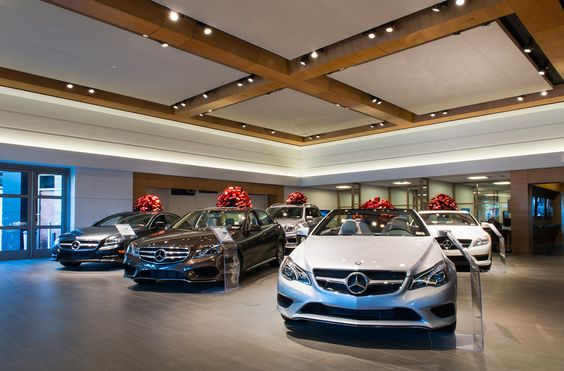 Mercedes Dealership - ECOSENSE LIGHTING