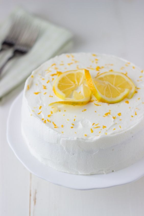 Lemon cakes, White chocolate and White chocolate mousse on Pinterest