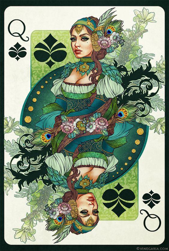 Queen of Spades by vinegar on deviantART
