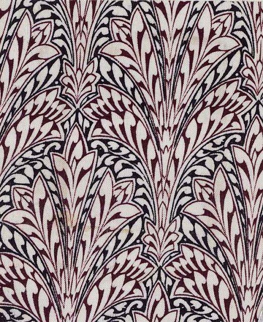 * Owen Jones. Textile design, 1851.