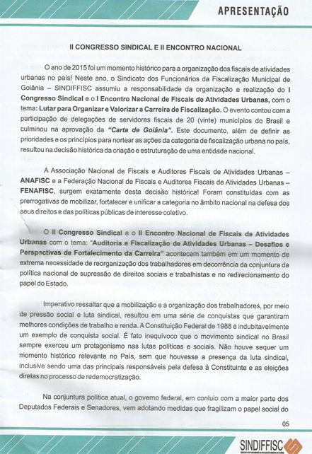 18/05/2017 - II Encontro - Carta de apresentação parte 1
