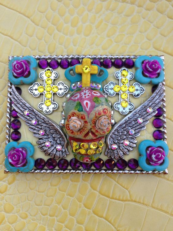 Day of the Dead buckle www.styleinthecityshop.com