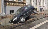 Bereits 2011 brach die Hauptleitung in der Friedrich-Ebert-Straße – mit erheblichen Folgen.