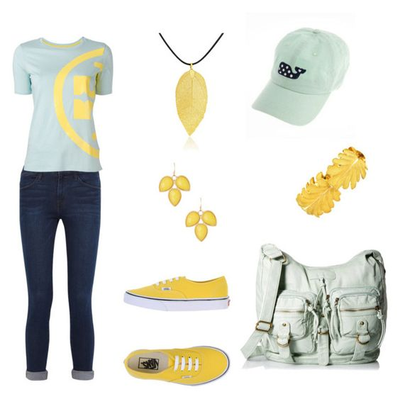 """Untitled #326"" by chernjay on Polyvore featuring Frame Denim, Tory Burch, Vans, Bling Jewelry, Natasha Accessories and Mario Buccellati"