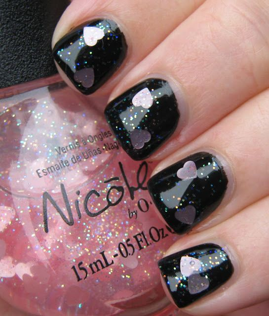 Liesl Loves Pretty Things: Nicole Love Your Life + Essence Black is Back-- BCA Pink Wednesday Week 5