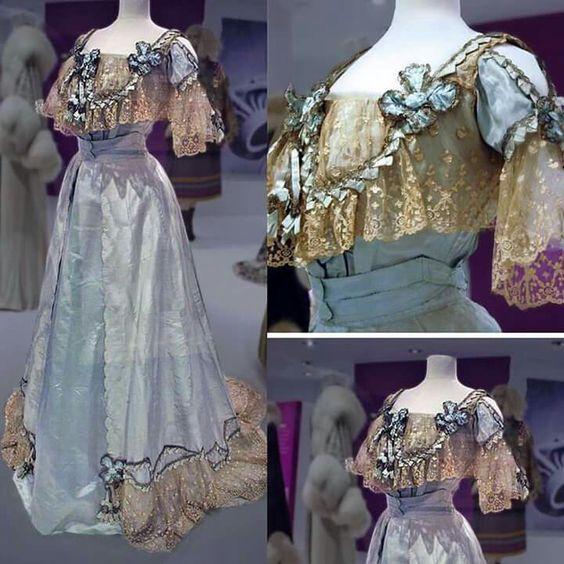 Evening dress 1906