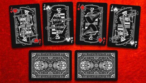 playing cards black gold - Google 検索