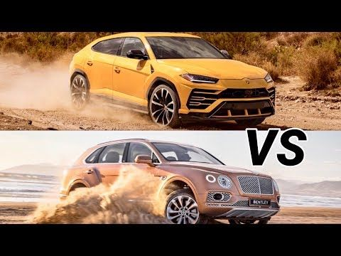 2019 Lamborghini Urus Vs 2018 Porsche Cayenne The World S Best