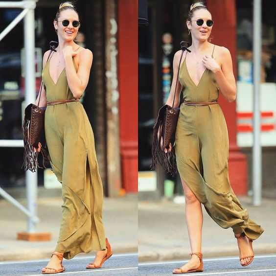 "Fashion▫Models▫Trends auf Instagram: ""Candy Style  #CandiceSwanepoel #CasualCelebStyl #CelebStreetStyl"""