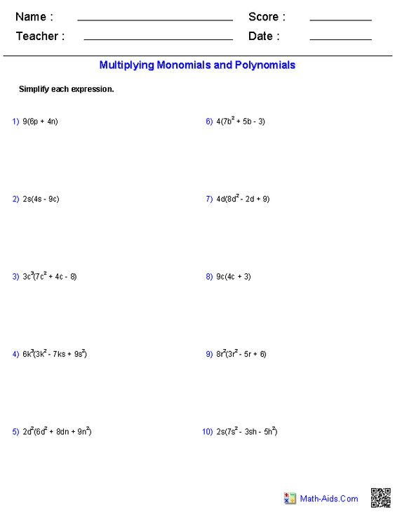 All Worksheets Grade 9 Math Polynomial Worksheets Printable – Math Worksheets Grade 9