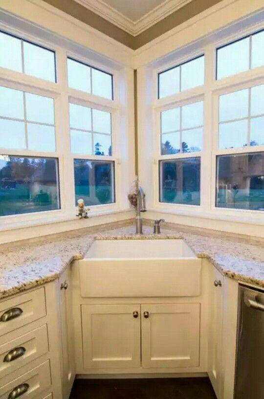 More Ideas Below Kitchenideas Kitchensink Copper Corner Kitchen Sink Layout Ideas Undermount Kitchen Sink Remodel Corner Sink Kitchen Farmhouse Sink Kitchen